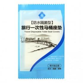 Gappo Travel Disposable Toilet Seat Cover / Alas Toilet 50 PCS - JJ3698 - White - 4