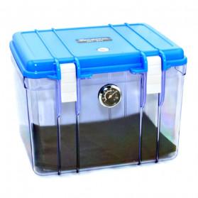 Dry Box Kamera Kotak Kering dengan Dehumidifier Size L - DB-3828 - Blue