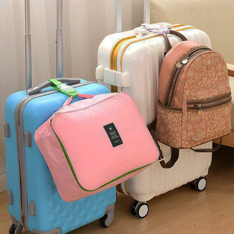 Manjianghong Strap Koper Penggantung Barang Adjustable Luggage Strap - 300101 - Mix Color - JakartaNotebook.com