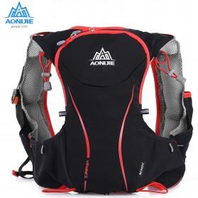 Perlengkapan Travel - Aonijie Tas Olahraga 5L dengan Hydration Slot 1.5L Size L/XL (backup) - Black