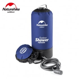 NatureHike Shower Outdoor Inflatable Water Bag 11L - NH17L101-D - Blue
