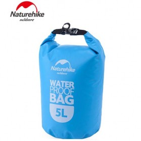 NatureHike Outdoor Waterproof Dry Bag - 5 Liter - Blue