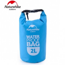 NatureHike Outdoor Waterproof Dry Bag 2 Liter - NH15S222-D - Blue