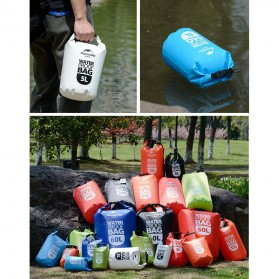 NatureHike Outdoor Waterproof Dry Bag 2 Liter - NH15S222-D - Blue - 6