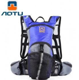 AOTU Tas Sepeda Hydration Bladders Bag 13L - Blue