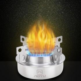 Aotu Kompor Gas Alcohol Stove Portable untuk Camping - AT6388 - Silver