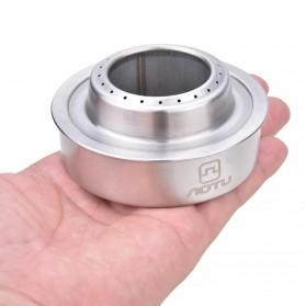 Aotu Kompor Gas Alcohol Stove Portable untuk Camping - AT6387 - Silver - 3