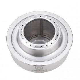 Aotu Kompor Gas Alcohol Stove Portable untuk Camping - AT6387 - Silver - 4