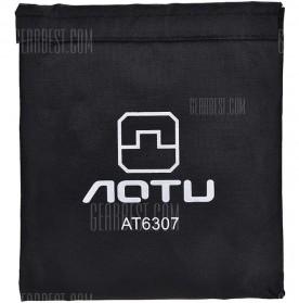Aotu Pelindung Angin Kompor Portable untuk Camping - AT6307 - Silver - 4