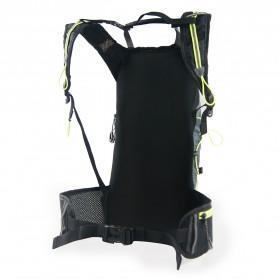 CoolChange Tas Ransel Gunung Hiking Sepeda Waterproof 10L - 03010 - Black - 3