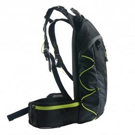 CoolChange Tas Ransel Gunung Hiking Sepeda Waterproof 10L - 03010 - Black - 4