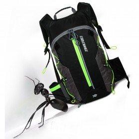 CoolChange Tas Ransel Gunung Hiking Sepeda Waterproof 10L - 03010 - Black - 7
