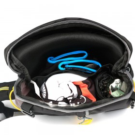 CoolChange Tas Ransel Gunung Hiking Sepeda Waterproof 10L - 03010 - Black - 8