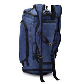 Free Knight Tas Ransel Fitness Duffel Bag - Black - 3