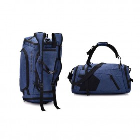 Free Knight Tas Ransel Fitness Duffel Bag - Blue