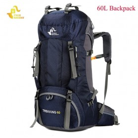 Free Knight Tas GunungTravel Hiking Camping Outdoor Adventure Waterproof 60L - FK039 - Dark Blue