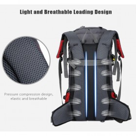 Free Knight Tas GunungTravel Hiking Camping Outdoor Adventure Waterproof 60L - FK039 - Dark Blue - 3