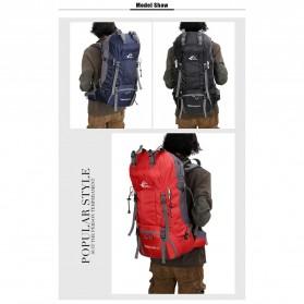 Free Knight Tas GunungTravel Hiking Camping Outdoor Adventure Waterproof 60L - FK039 - Dark Blue - 8