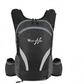 West Biking Tas Olahraga Sepeda 15L with Hydration Slot - YP070 - Black - 2