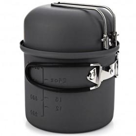 Alocs 7 in 1 Kompor Gas Alcohol Stove Portable untuk Camping - CW-C01 - Black - 5