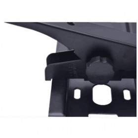 Taffware TV Bracket 1.5mm Thick 600 x 400 Pitch for 32 - 65 Inch TV - YT-DT600 - Black - 5