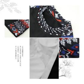 Baju Renang Wanita Diving Style Swimsuit Size L - 18010 - Black - 3