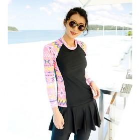 Baju Renang Wanita Diving Style Swimsuit Size L - 18010 - Black - 4