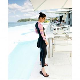 Baju Renang Wanita Diving Style Swimsuit Size L - 18010 - Black - 5