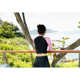 Baju Renang Wanita Diving Style Swimsuit Size L - 18010 - Black - 7