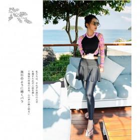 Baju Renang Wanita Diving Style Swimsuit Size L - 18010 - Black - 8