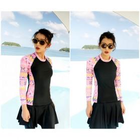 Baju Renang Wanita Diving Style Swimsuit Size L - 18010 - Black - 9