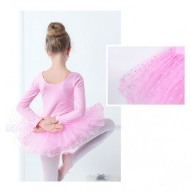 Baju Ballet Ballerina Rok Tutu Umur 4-5 Tahun - 301X01 - Pink - 2
