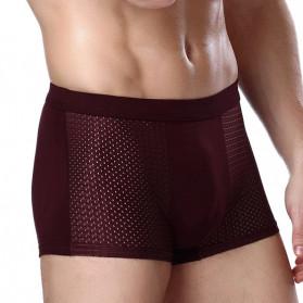 SKY HERO Celana Dalam Boxer Brief Pria Size XL 4PCS - MU0015 - Multi-Color - 4