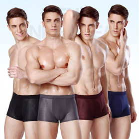 SKY HERO Celana Dalam Boxer Brief Pria Size XXXL 4PCS - MU0015 - Multi-Color - 2