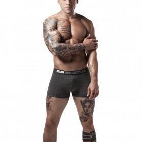 NAFORAN Celana Dalam Boxer Brief Pria Size XXL - PH-508 - Black - 2