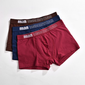 NAFORAN Celana Dalam Boxer Brief Pria Size XXL - PH-508 - Black - 4
