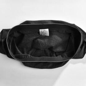 NAFORAN Celana Dalam Boxer Brief Pria Size XXL - PH-508 - Black - 6