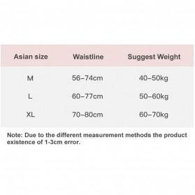 Cinvik Celana Dalam Wanita G-String Seamless Sports Underwear Size L - L9383 - Black - 9