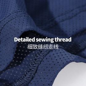 AOELEMENT Celana Dalam Boxer Pria Breathable Ice Mesh Hole Size L - AO500 - Black - 5