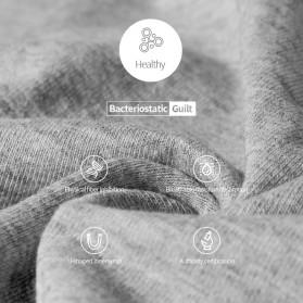 AOELEMENT Celana Dalam Boxer Pria Breathable Ice Mesh Hole Size L - AO500 - Black - 8