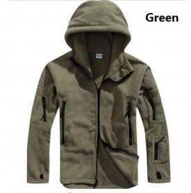 ARCHONSHIP Jaket Gunung Anti Dingin Windproof Model Army Pria Size L - Green