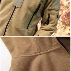 DAFEILI Jaket Gunung Anti Dingin Windproof Model Army Pria Size XL - Green - 9