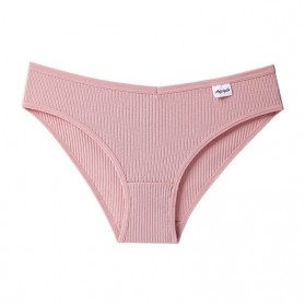 Aobiegike Celana Dalam Wanita Cotton Underwear Size L - P077 - Pink