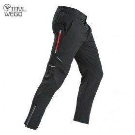 TRVLWEGO Celana Hiking Pants Cycling Pants Pria Model Fluorescence Size L - AD272 - Black