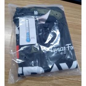 STRAVA Baju Pakaian Olahraga Sepeda Pria MTB Cycling Jersey Short Sleeve Men Size XXL - CM-DY-256 - Black - 7
