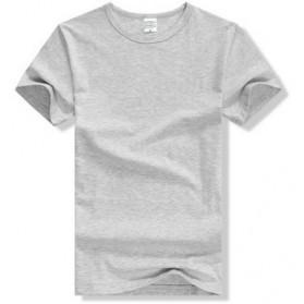 Kaos Polos Katun Pria O Neck Size M - 86102 / T-Shirt - Gray - 2