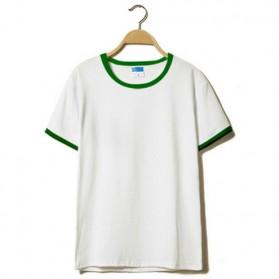 Kaos Polos Katun Pria O Neck Size L - 86202 / T-Shirt - Green - 3