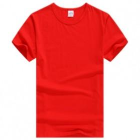 Kaos Polos Katun Wanita Lengan Pendek O Neck Size S - 85601 / T-Shirt - Red