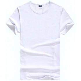Kaos Polos Katun Wanita Lengan Pendek O Neck Size L - 85601 / T-Shirt - White