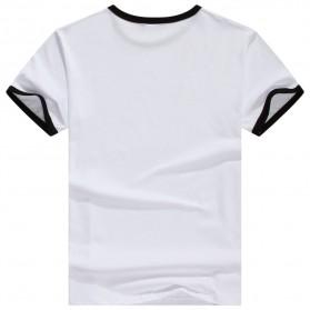 Kaos Polos Katun Pria Lengan Pendek O Neck Size S - 85606 / T-Shirt - Black - 2
